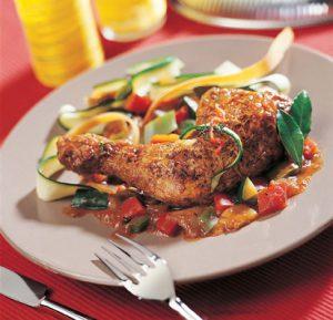 recette facile de poulet basquaise