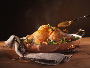 poulet aux écrevisses
