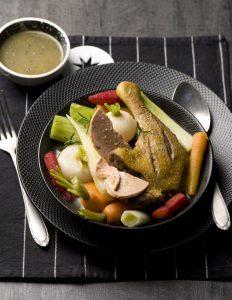 pot au feu de canard aux légumes